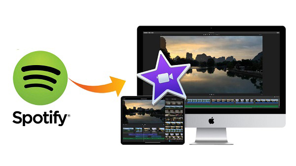 spotify music to imovie