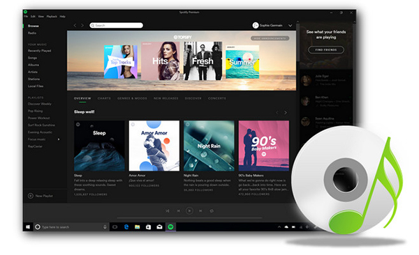 spotify to cd