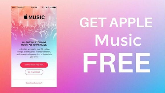 get apple music free