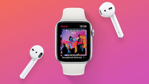 music on apple watch