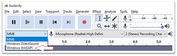 record spotify with audacity-2
